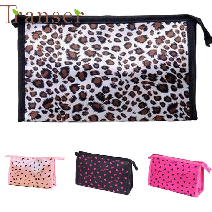 Transer Elegance  Superior Quality Multi Color Pattern Cute Color Multi-Function Cosmetic Bag Cosmetic Cases ,makeup bag DEC7