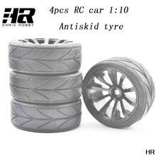 RC car 1/10 anti-skid tyre Diameter 64MM wide 26.2 MM binding device 12MM flat running tires flat running street tires car tires