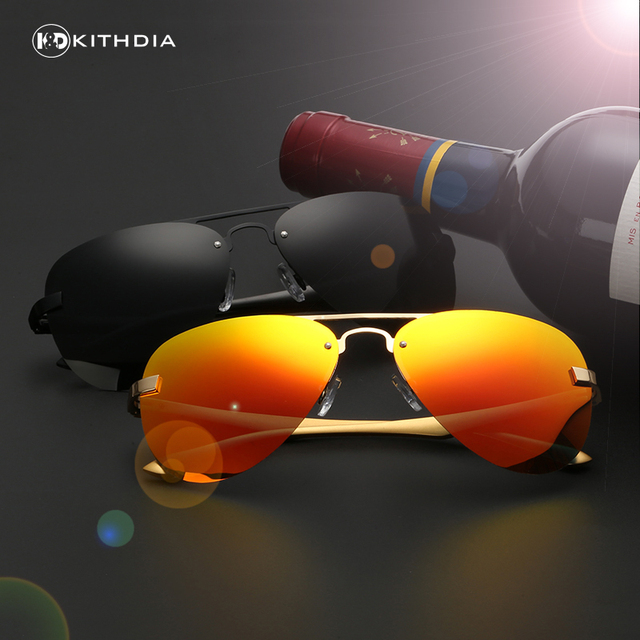 EZREAL Grade Aluminum magnesium Polarized Sunglasses Men Brand Designer Driving mirror Sun Glasses for Men Retro Male oculos