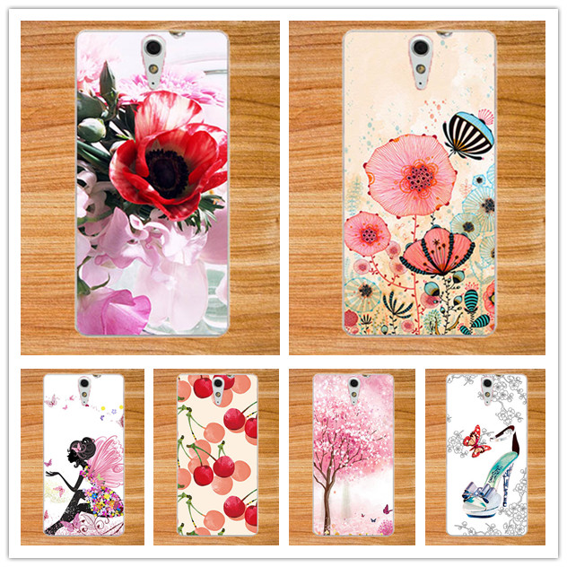 newest e29e2 6a347 US $1.24 31% OFF|High Quality UV Printing 10 Colors Case Skin Back Cover  For Sony Xperia C5 Ultra Dual E5533 E5563 E5553 Phone Cases For Sony C5-in  ...
