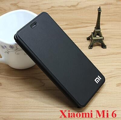 ALIVO Brand For Xiaomi Mi 6 case, luxury flip leather original phone case ,filp back cover for xiaomi mi6 case cover
