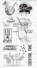 Французский прозрачный штамп, прозрачная печать для скрапбукинга «сделай сам»/изготовления карт c524