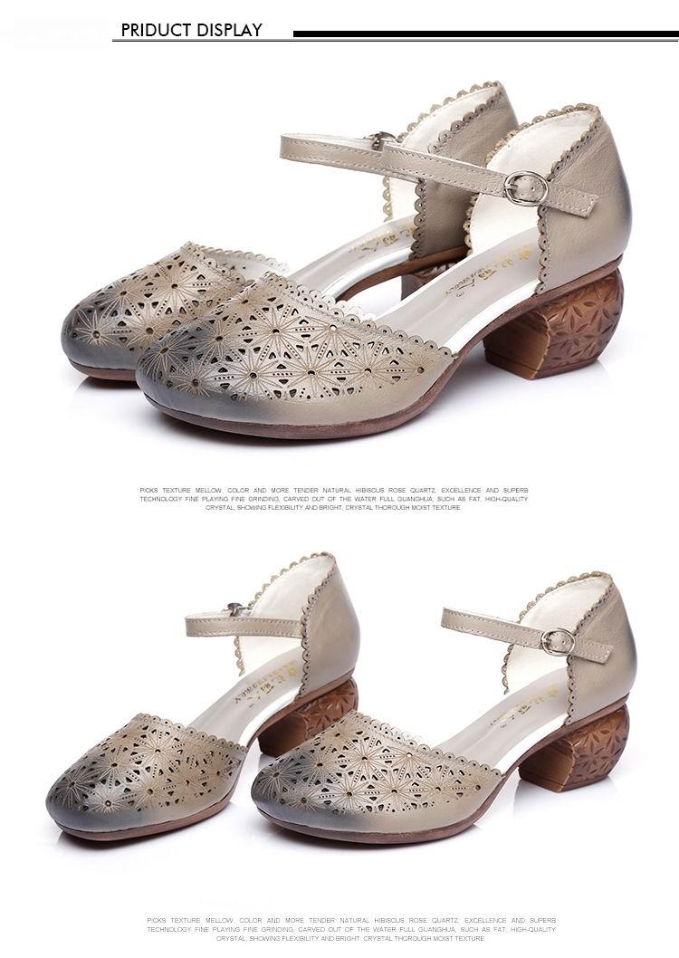 Sandale GKTINOO Schuhe Leder 9