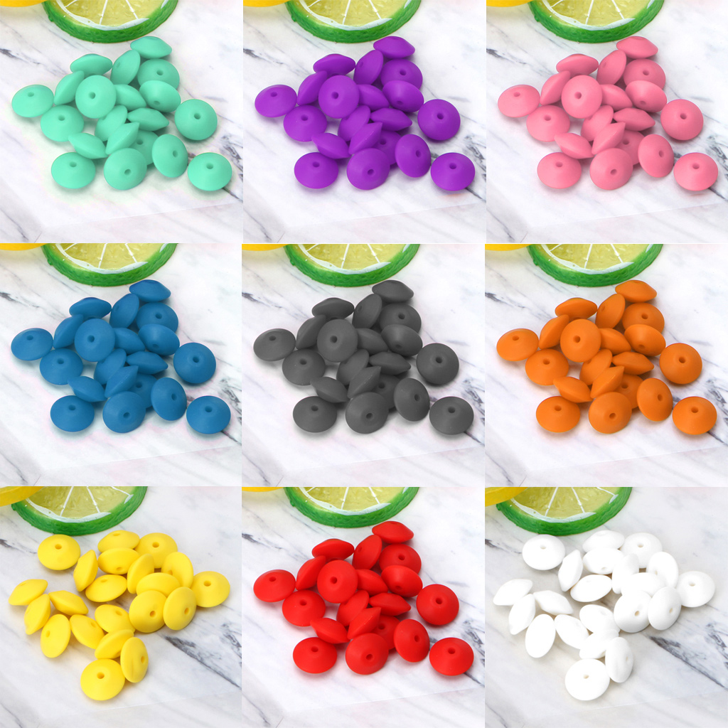 Logical Chengkai 50pcs Bpa Free Silicone Rose Flower Pendant Teether Beads Diy Baby Pacifier Dummy Teething Chewable Nursing Jewelry Toy Beads & Jewelry Making