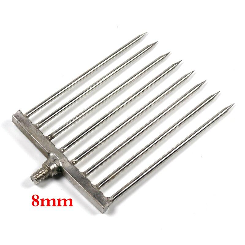 stainless steel ice fishing spear dark house spear head pike spear spear head