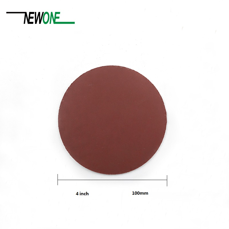 10pcs 4 Inch 100mm Sander Disc Sanding Polishing Paper Sandpaper Disc #40 - #7000 Abrasive Tools For Sander Grits