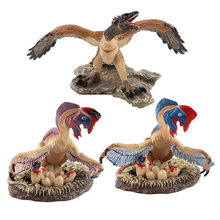 Filme Dinossauro Antes Archaeoteryx Oviraptor PVC Action Figure Model Collection Toy Dolls(China)
