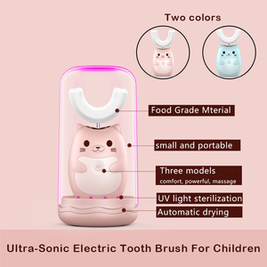 Image 4 - Family Travel kit Electric Toothbrush Rechargeable Tooth Brush Electric Automatic Wireless Charging sonic kids Electric Brush