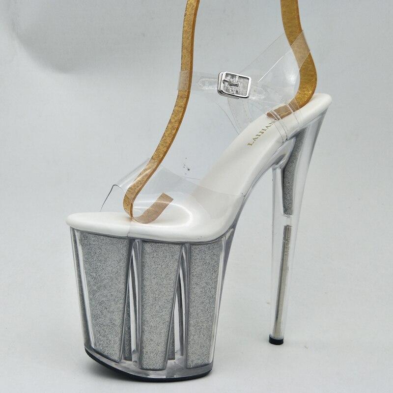 De Plate Hauts Nuit Talons Toe D'étape Pompes Laijianjinxia 20 Femmes Mariage Clair Sandales Chaussures Nouvelles Peep Cm Boîte Ultra Sexy D'été forme 2018 UFRqwASx