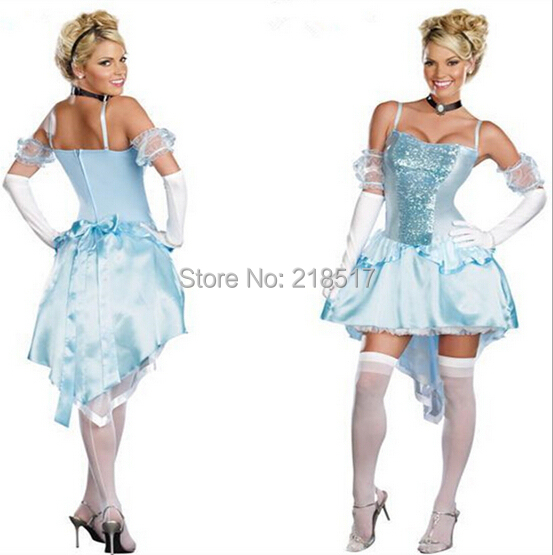 Original Princess Snow White Cinderella Dresses Costumes: Sleeping Beauty Cosplay Costume Snow White Princess Dress