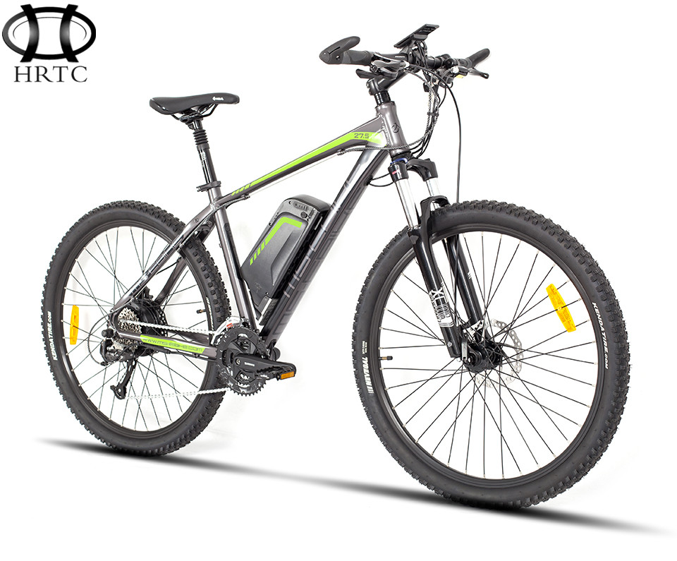 27.5 inch electric bike lithium battery electric cycle Cross country mountain ebike with Smart LCD Display free shipping 48v 15ah battery pack lithium ion motor bike electric 48v scooters with 30a bms 2a charger