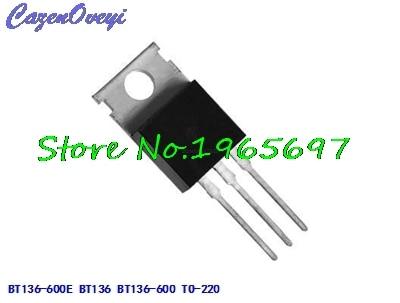 10pcs/lot BT136-600E BT136 BT136-600 600V 4A TO-220 New Original In Stock