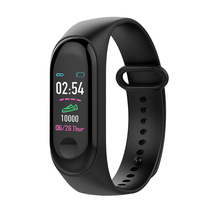 M3 Color Screen smart bracelet with yoho app Blood Pressure Heart Rate Monitor Smart wristband Pedometer For Android IOS  system