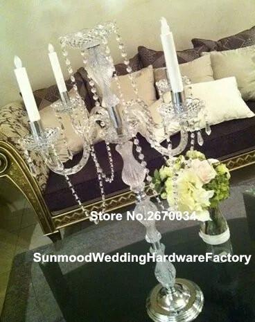 Klar Acryl Kunststoff Zylinder Glasvase Groß Kerze Blume Halter Dekoration  Vase Für Hochzeit Tisch
