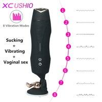 Electric Male Masturbator Cup Automatic Telescopic Sex Machine Hands Freely Vagina Sex Vibrator Sex Toys for Men
