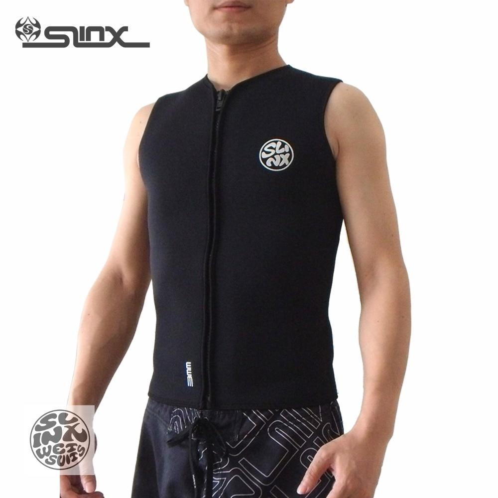 Slinx 3mm neoprene jacket for Surfing Windsurfing Kitesurfing waterskiing Personal Water Craft PWC Boating diving vest