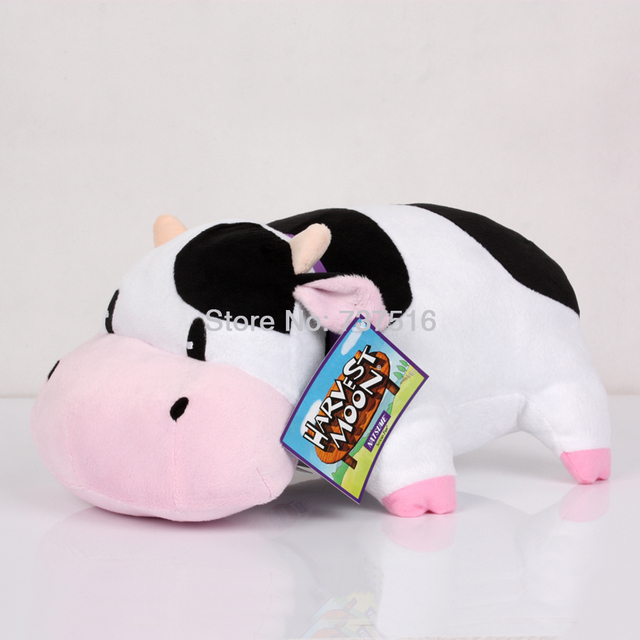 New Arrived Black And White With Pink Harvest Cute Cow Promo Animals