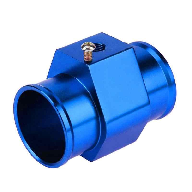 Vodool Universal Mobil Auto Biru Air Suhu TEMP SENSOR Gauge Pipa Bersama Radiator Selang Mobil Meter Tube Konektor Adaptor Kit