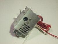 UM 2+ Ultimaker 2+, Extended + V6 hotend Mount full kit CNC mount holder PT100B Temp sensor 1.75/3mm new aluminum alloy
