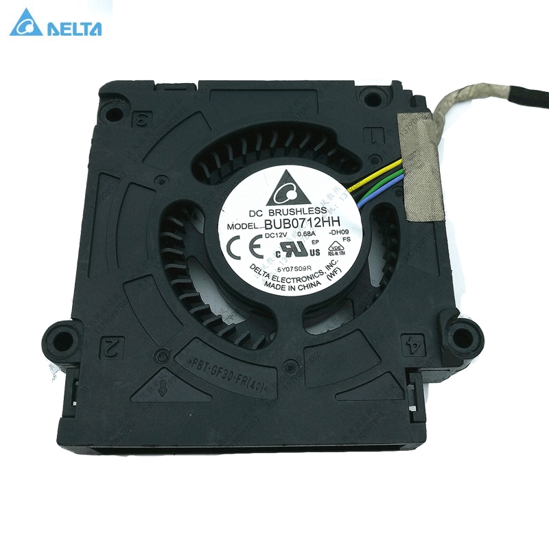 For Delta BUB0712HH-DH09  PVB070E12H-P01 CT:AEFMV 747932-001 All In One Cooling FAN