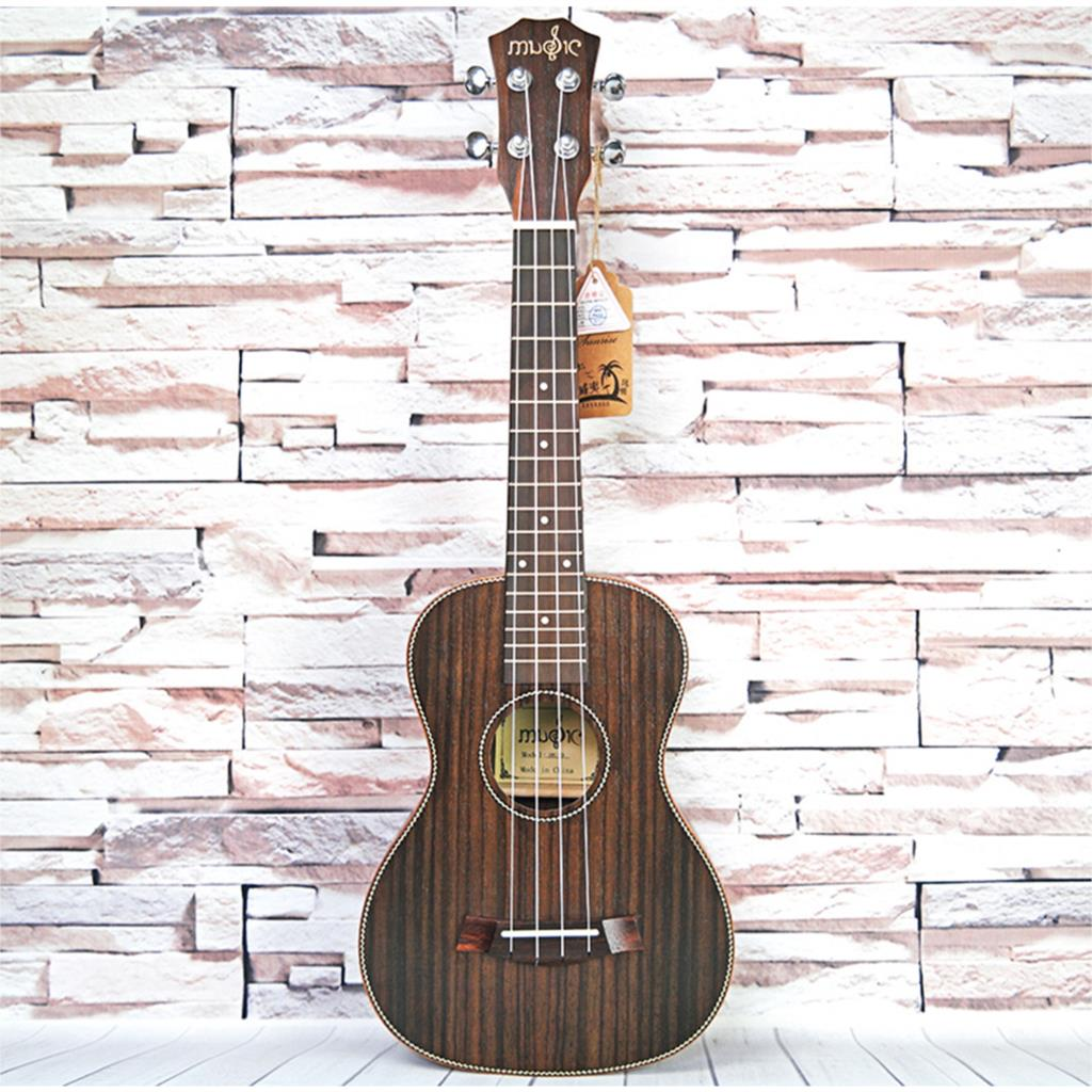 "Dean Guitars Ukulele Travel Uke: 23"" Concert Full Rosewood Solid Wood Ukulele 4 Strings"