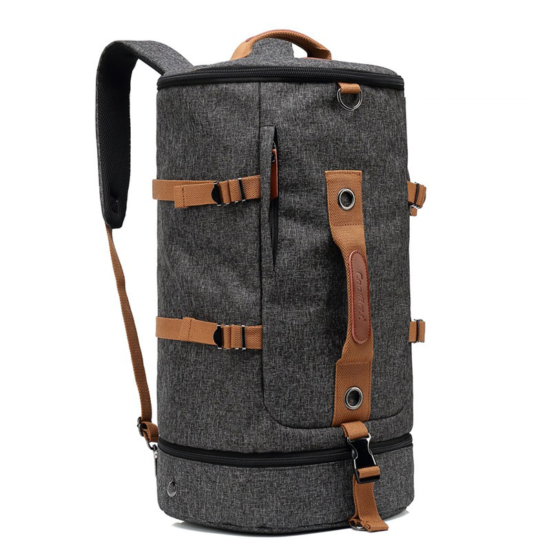 Luggage & Travel Bags Casual Fashion Men Classic Trip Canvas Travel Bags Big Backpack Package Large Capacity Fashion Luggage Cool Travel Duffle