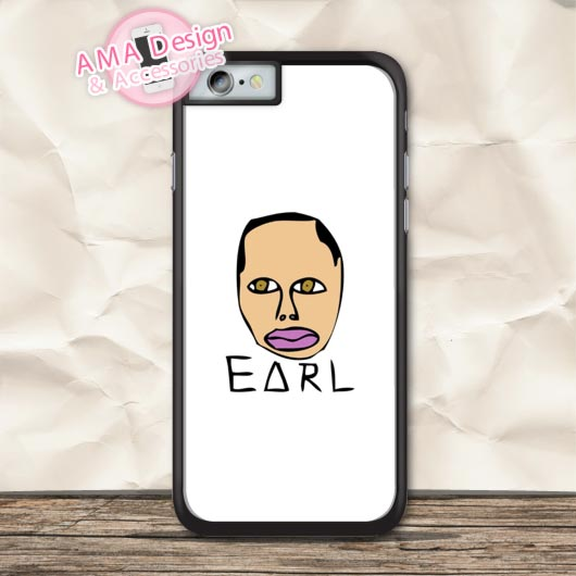 Earl Sweatshirt Odd Future Style Protective Case For iPhone X 8 7 6 6s Plus 5 5s SE 5c 4 4s For iPod Touch