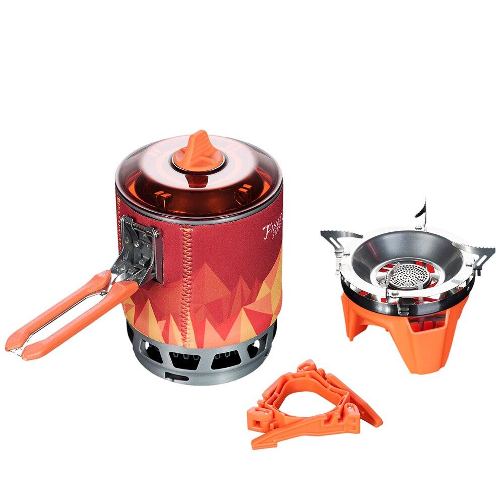 อุปกรณ์ Fire FMS-X3 กลางแจ้งทำอาหารส่วนบุคคลระบบ