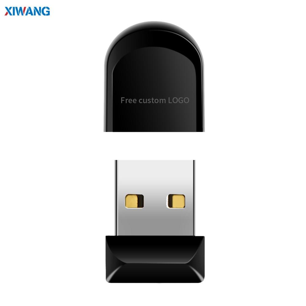 New Super Mini Usb Flash Drive 128GB 64GB 32GB 16GB 8GB 4GB Pen Drive USB 2.0 Pendrive Waterproof USB Memory Stick Free LOGO