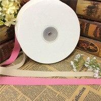 2cm high quality thread double rib belt hat ribbon DIY butterfly wedding celebration gift wrap ribbon stripes