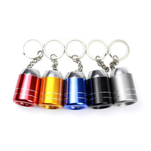 Led Keychain Mini Flashlight Metal Baking Key Chain(color random send)