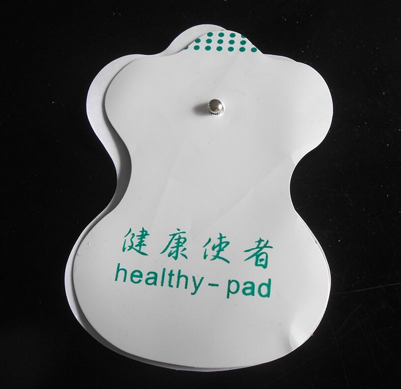 20pcs/lot New Electrode Pads for Tens Digital Therapy Acupuncture Machine Massager Healthy Pad Replacement 4 electrode massager therapy acupuncture tens mini digital pulse extra useful us
