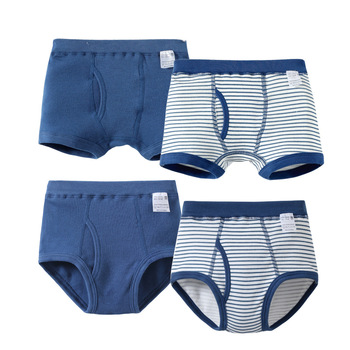 VIDMID Kids Boys Underwear for baby boys organic cotton Children's Boy Boxer Shorts Panties Teenage Underwear 3-10y 7010 11 Baby Clothes Kid (3+ years) Panties Shop by Age Toddler (1-3 years)