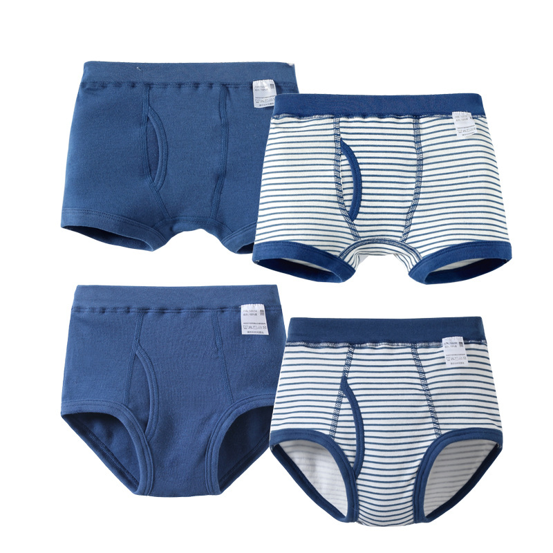 VIDMID Kids Boys Underwear for baby boys organic cotton Children's Boy Boxer Shorts   Panties   Teenage Underwear 3-10y 7010 11