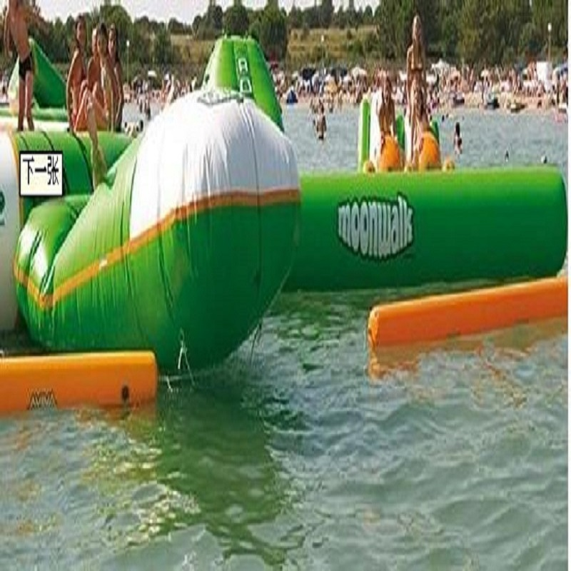 Blob Bouncing Bag Inflatable Jumping Bag Size 5*3 M Playing With Water Trampoline Water Park Used