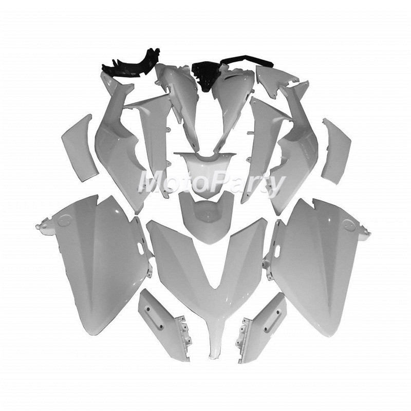 Kit de carénage moto non peint en plastique ABS pour Yamaha T MAX TMAX T-MAX 530 TMAX530 T-MAX530 2015 carénages kit carrosserie