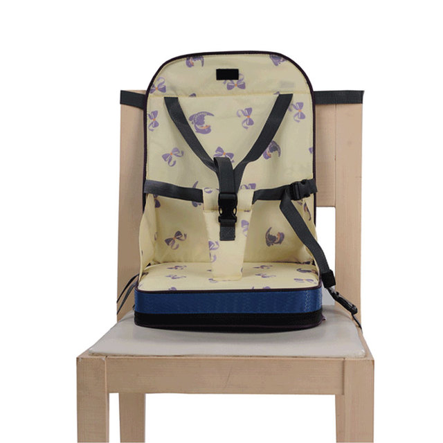 Portátil Cadeira Dobrável Food Alimentação Do Bebê Criança Assento de Segurança Infantil Almoço Cadeira Casa Cadeira Alta de Viagem Crianças de Alta Qualidade 3 Cores