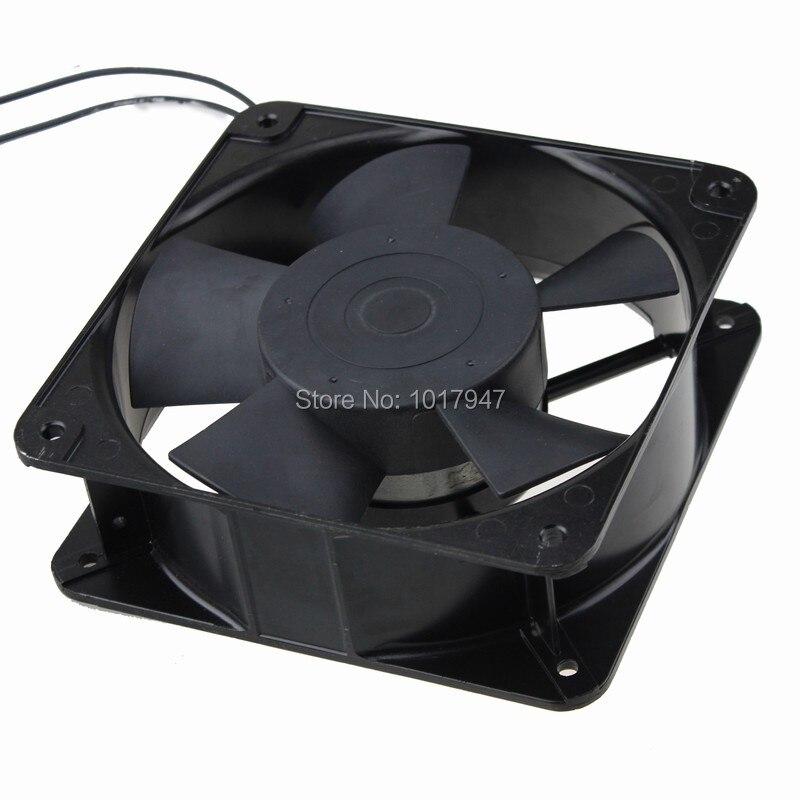 1 pièces Gdstime AC fil 220 V 240 V 180mm x 60mm 18 cm double boule métal ventilateur industriel ventilateur