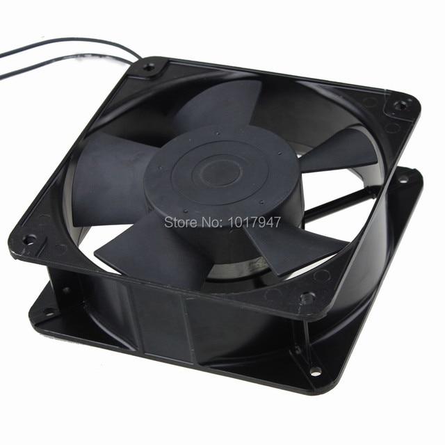 1Pcs Gdstime 2Wire 220V 240V 180mm x 60mm 18cm Dual Ball Metal Industrial Fan Ventilator