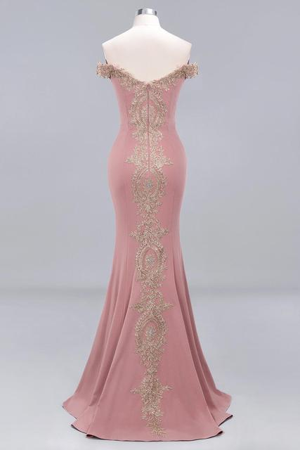 New Arrival Burgundy Lace Mermaid Prom Dresses Long Sexy Open Back Cap Sleeve Evening Party Dresses Vestido de Festa 6
