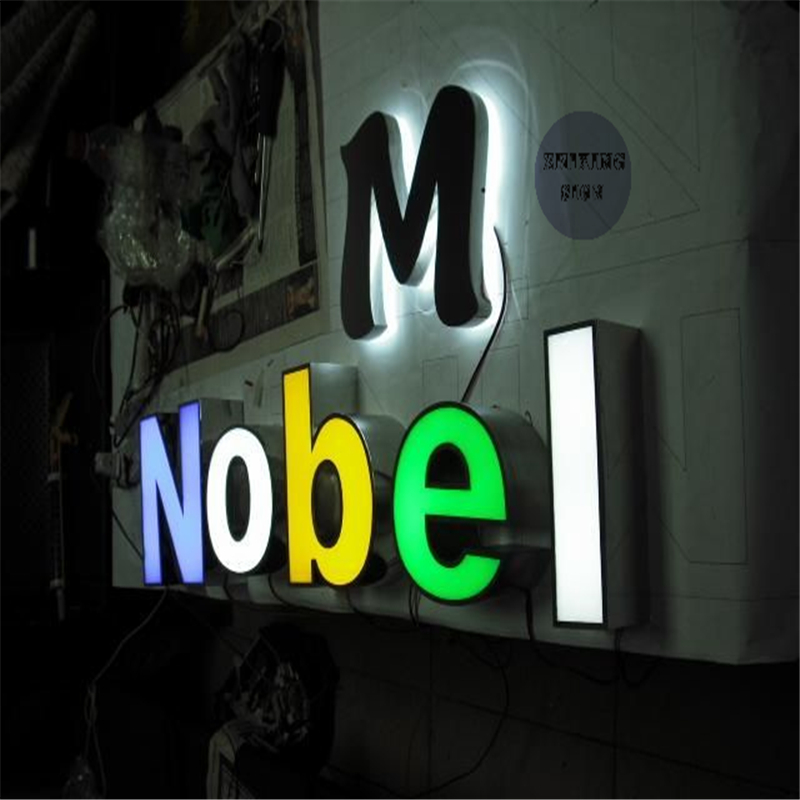 Factory Outlet Outdoor Waterproof Super High Brightness Business Signs Acrylic
