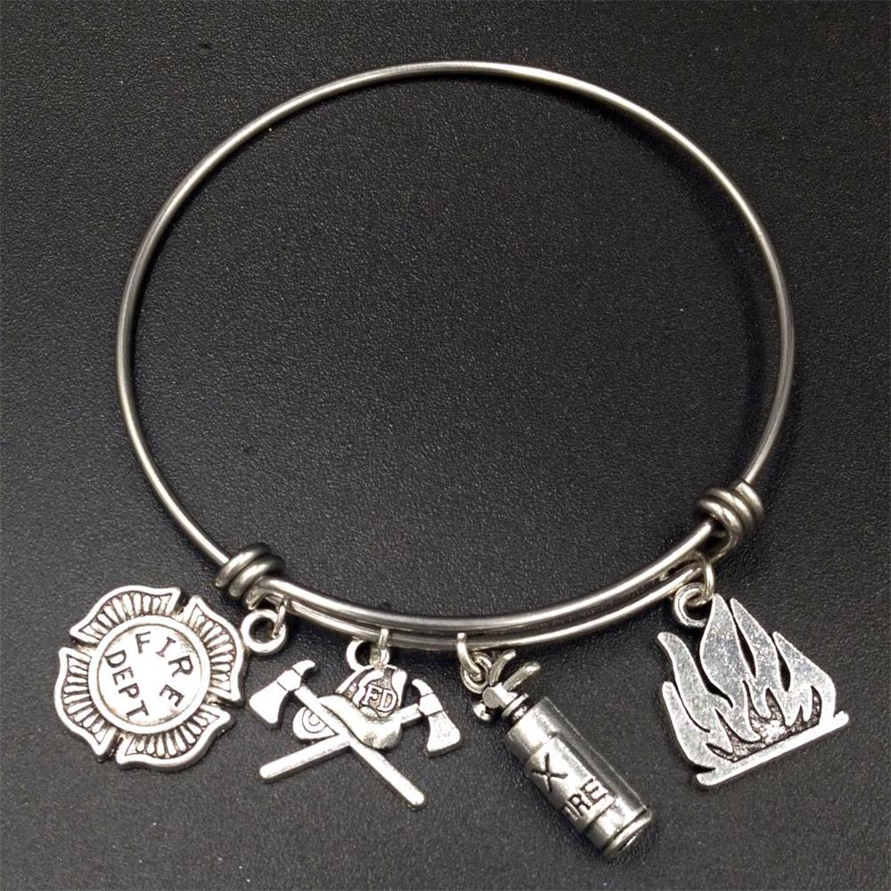 gabriel bangles co bracelets silver bangle sterling k steel charm mxjjj initial stainless