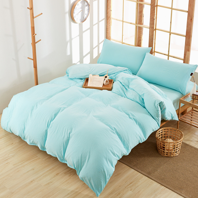 Fashion VS Secret Washed Cotton Bedding Set Microfiber