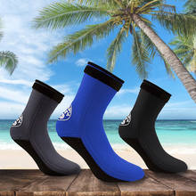 3mm Neoprene Surfing Snorkeling Socks Men Women Beach Diving Swimming Wetsuit Prevent Scratch Warm Snorkeling Spearfishing Sock(China)