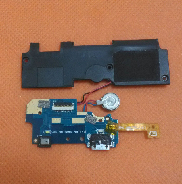 "Used Original USB Plug Charge Board+Loud speaker For DOOGEE Turbo2 DG900 MTK6592 Octa Core 5"" FHD 1920x1080 Free shipping"