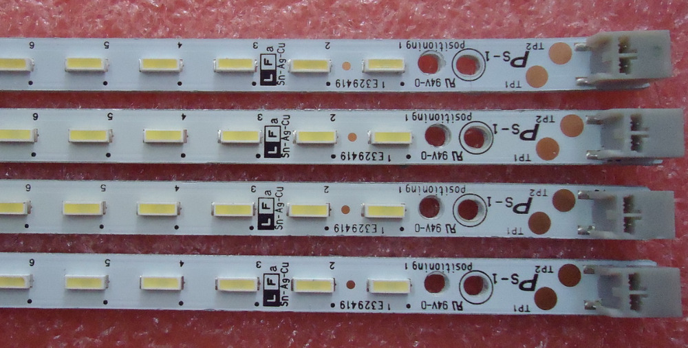 676mm Lâmpada LED Backlight tira 60 leds Para LCD LCD-60LX530A LCD-60LX960A LCD-60LX850A E329419