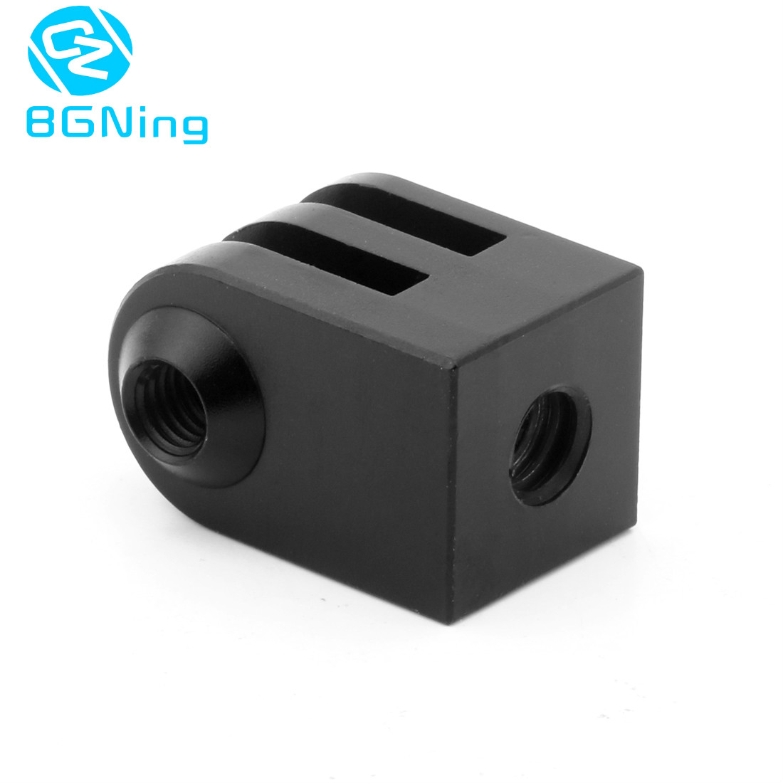 BGNING CNC Aluminum Alloy Mini <font><b>Tripod</b></font> <font><b>Mount</b></font> Outdoor Sports Camera Base <font><b>Adapter</b></font> for GoPro SupTig All <font><b>1/4</b></font>