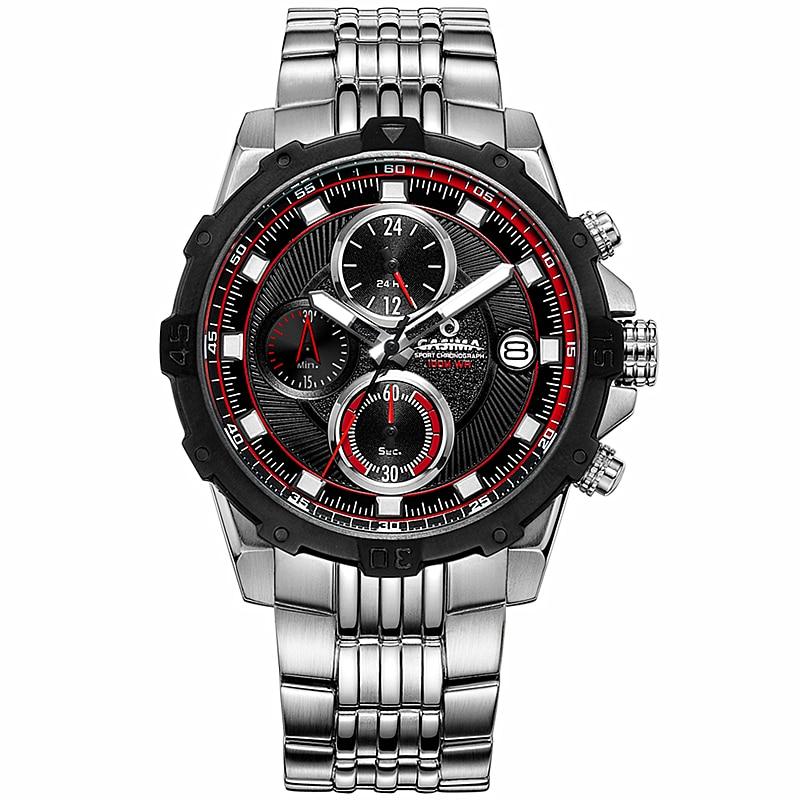 CASIMA Fashion mens watches top brand luxury wrist watch Casual Sport waterproof luminous Men Quartz watch relogio masculino цена и фото