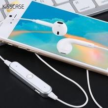 KISSCASE Sport Neckband Wireless Earphone Bluetooth Headphone Headset Handsfree Earbuds Sweatproof With Mic For huawei Xiaomi LG все цены