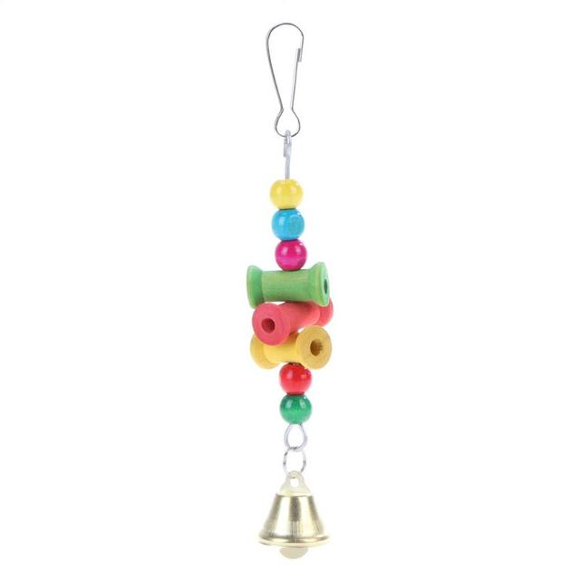 Colorful Parrot Pet Bite Climb Chewing Toy Bird Nest 1